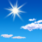 Friday: Sunny, with a high near 54. North northwest wind 5 to 7 mph.